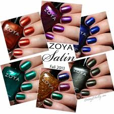 zoya satin collection for fall 2013 swatches and review sassy