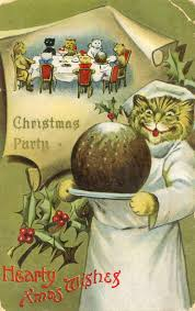 christmas cats vintage postcards at toronto public library