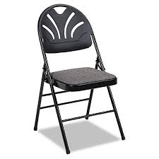 samsonite fanfare high back padded folding chair 35 12 h x 18 12 w