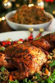ad creole cornish hens with rice dressing