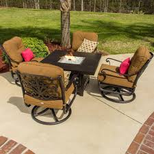 Patio Tables With Fire Pit Exterior Inspiring Patio Decor Ideas With Costco Fire Pit