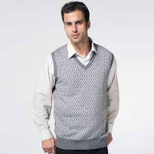 2017 sweater vest knitted wool pullover sweaters vest