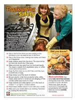 nfpa thanksgiving safety