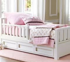 Toddler Bed White Toddler Bed Pottery Barn Kids