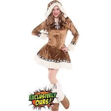 Party Halloween Costumes Teenage Girls Teen Girls Snow Bunny Costume Halloween Dress