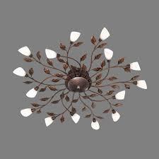 Schlafzimmer Lampe Vintage Led Deckenlampe Design Leuchte Im Vintage Stil Floral Lampen