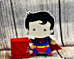 Batman Baby Shower Decorations Superman Baby Shower Etsy