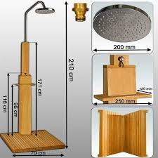 box doccia da esterno doccia esterno doccia legno giardino arredo a rimini kijiji