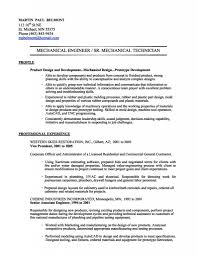 Project Engineer Resume Sample by Mechanical Engineer Resume Sample Free Resume Example And