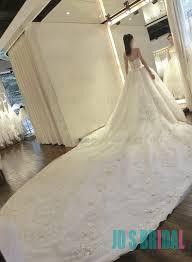 big wedding dresses jw16183 stunning cathedral big florals wedding