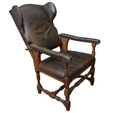 fauteuil de malade leather fauteuil malade for sale at 1stdibs