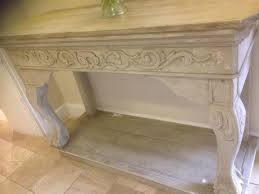 Painted Console Table A Stunning Highly Decorative Antique Carved Wood Painted