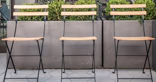 Metal Chaise Bistro Naturel Chair Metal And Wood Chair Outdoor Furniture