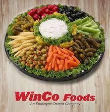 winco deli catering prices relish tray