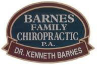 Dr Barnes Chiropractic Barnes Family Chiropractic Pa Dr Kenneth Barnes Chiropractor