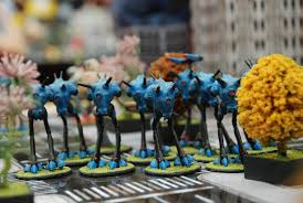 Blue Table Painting by Robotech Kickstarter Funded At 1 44 Million Forum Dakkadakka