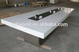 Large White Meeting Table Modern White Meeting Table Luxury Conference Table Contemporary