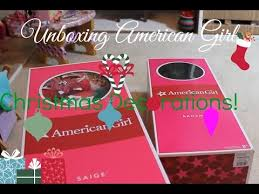 unboxing my american doll decorations part 1