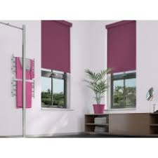 Aubergine Roman Blinds Top Quality Roller Blinds