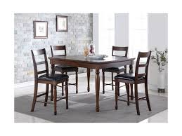 Dining Room Counter Height Tables Legends Furniture Breckenridge 5 Piece Counter Height Table