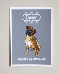 boxer dog art boxer dog silhouette word art print 8 x 10 calligram by petgifts