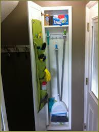 broom closet organizer tips home design ideas