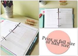 best 25 monthly planner template ideas on pinterest monthly