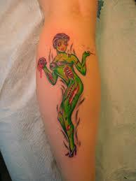 pin up tattoo the tattoo design
