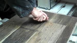 how to distress and authentically handscrape a hardwood floor