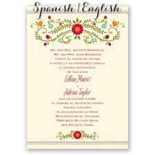 wedding wishes en espanol bilingual wedding invitation wedding invitations