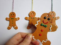 always arty gingerbread men ornaments