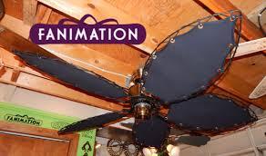 fanimation caruso ceiling fan fanimation islander ceiling fan canvas blades youtube