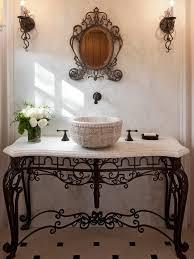 Wrought Iron Bathroom Furniture Adorable Wrought Iron Vanity Lights Wrought Iron Bathroom Lighting