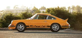 Porsche 911 Orange - 1973 porsche 911 carrera rs 2 7 touring
