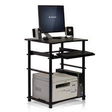Furinno Laptop Desk Furinno Home Laptop Oak Grey Computer Desk With Keyboard