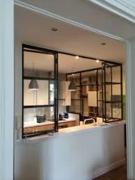 verriere dans une cuisine une verrière dans la cuisine pour une déco rétro style atelier