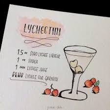 lychee martini day 157 lychee martini u003d lycheetini u2014 joanne shih