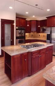 kitchen island with stove breathingdeeply