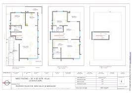duplex house floor plans duplex house plans 30 50 south facing homes zone brilliant 3