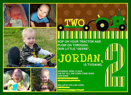 john deere custom birthday invitations tags john deere birthday