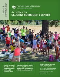 st johns community center spring summer 2017 by portland parks