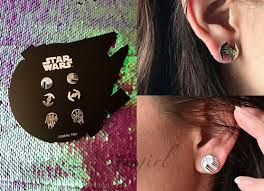 wars earrings fandom accessory feature wars disney the walking dead x