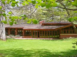 Frank Lloyd Wright Home Decor Andrew F H Armstrong House Ogden Dunes Indiana Usonain Style Frank