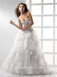 a line princess sweetheart see through corset wedding dress