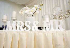 mr mrs wedding table decorations sweetheart table mr and mrs sign and mr and mrs table sign in
