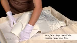 wedding dress preservation how to pack your wedding dress in a preservation box