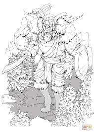 dungeons and dragons giant coloring page free printable coloring