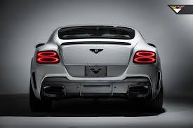 bentley continental gt car bentley vorsteiner bentley continental gt coupe v8 aero deck lid spoiler