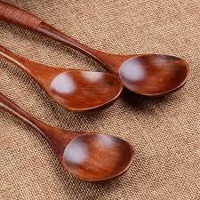 ustensile de cuisine en c lot en bois cuillère en bambou cuisine ustensile cuisson potage