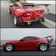 nissan 350z rear spoiler chassis mount wing u2013 street faction engineering